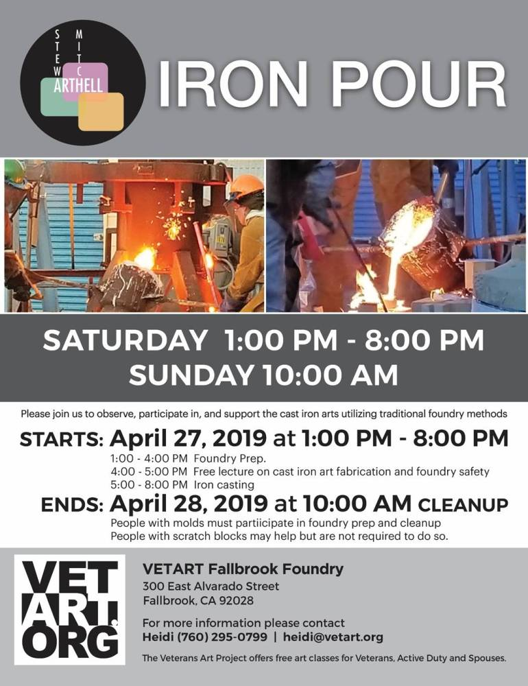 ๑۩۩๑ ● Hook, Line and Stinker ::: Fishbowl-O-Rama 2019 ● ๑۩۩๑-vetart-flyer-iron-pour.jpg