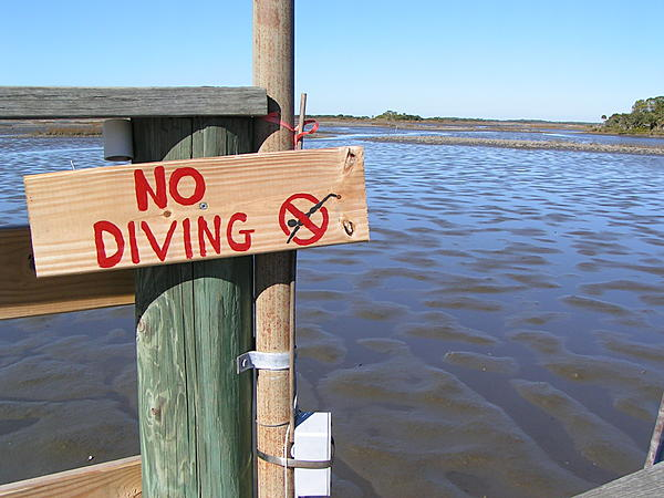 Post your sign post pictures-no-diving-ceder-key-fl.jpg