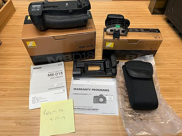 SOLD: Nikon Battery Grip for D850 + BL5 Chamber Cover (for use with EN-EL18C battery)-img_0946.jpg