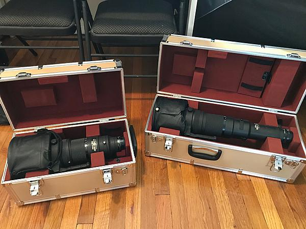 Nikon Nikkor 400mm f2.8 and 800mm f5.6 AIS ... a modern view ( w Nikon D800 and D850)-400and800mmincase1.jpg