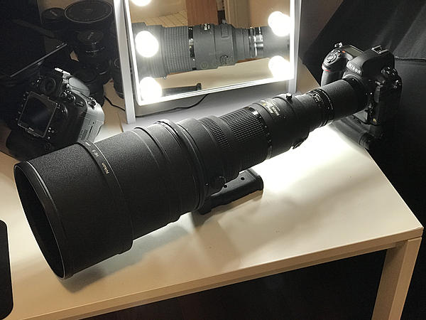 Nikon Nikkor 400mm f2.8 and 800mm f5.6 AIS ... a modern view ( w Nikon D800 and D850)-400f2.8aiswith2xandd850.jpg