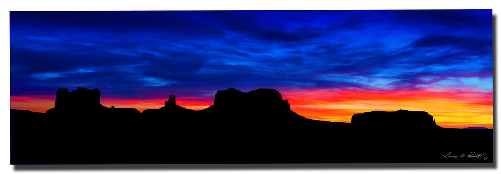 Weekly Challenge Mar.15 - 22: PEACEFUL-w_monument-sunset.jpg