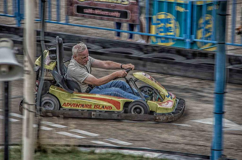 Weekly Challenge July 19 - 26: Art of Panning-go-kart.jpg