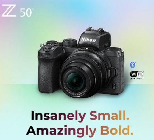 Nikon Z50 mirrorless APS-C camera and two lenses (16-55mm and 50-250mm) to be announc-nikon-z50-lekaed-image-2.jpg