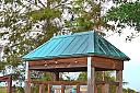 Shelter at Loxahatchee by Marilynne in Landscape