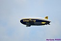 Goodyear Blimp by Marilynne