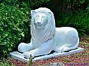 Lion Statue by Marilynne in Landscape