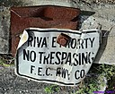 FEC Railroad Sign by Marilynne in Transportation