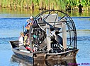 Airboat Worker People by Marilynne