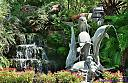 Waterfall and Fountain by Marilynne in Landscape