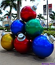Christmas Balls by Marilynne in Landscape