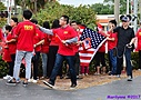 Chinese supporters by Marilynne in People I don't know