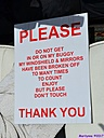 Sign by Marilynne in Stuff
