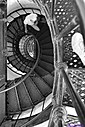 St. Augustine Lighthouse Stairs by Marilynne