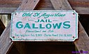 Old Jail Gallows Sign by Marilynne in Landscape