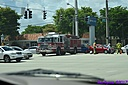 Fire Truck Vehicle Accident by Marilynne