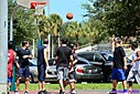 Basketball game by Marilynne in People I don't know
