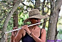 Flutist People by Marilynne in People I don't know