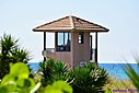 Life Guard Tower by Marilynne in Landscape