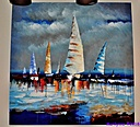Sailboats by Marilynne in Stuff