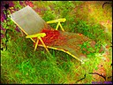Lawn Lounger by Marilynne