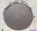 Manhole Cover Plus by Marilynne in Stuff