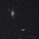 bode galaxy stack crop reprocessed by patrick in memphis in Member Albums