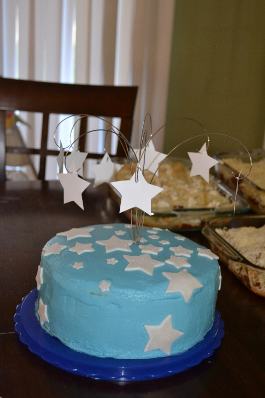 starry night /astronomy birthday cake by patrick in memphis in Member Albums