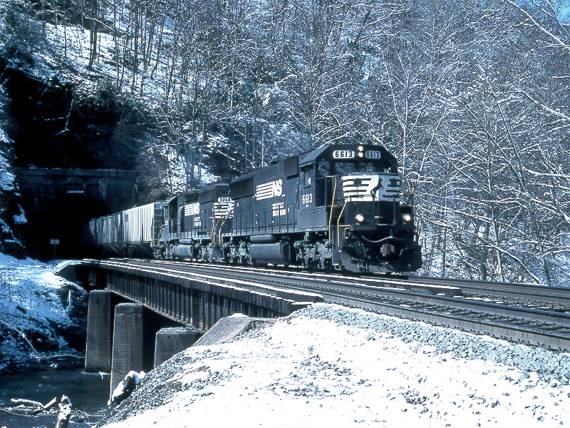 NS at Twin Branch, WV