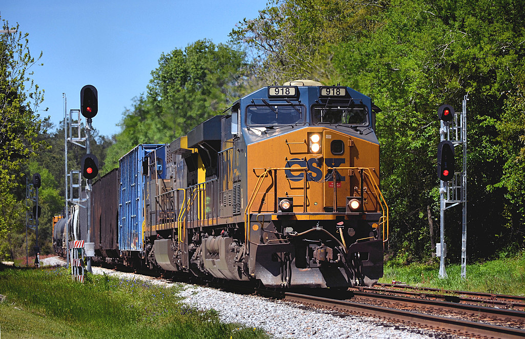 CSX at Camden SC by Sandpatch in Weekly Photo Challenges