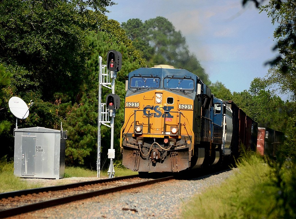 CSX at Elgin SC by Sandpatch in Member Albums