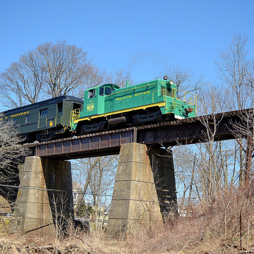 BR&W at Flemington NJ Bridge