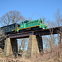 BR&W at Flemington NJ Bridge by Sandpatch in Member Albums