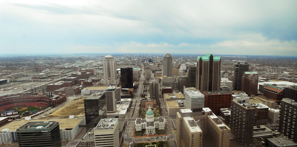 view from top of st. louis arc by jumbo in Member Albums