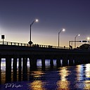 Sunset Under Bridge by FredKingston in Member Albums