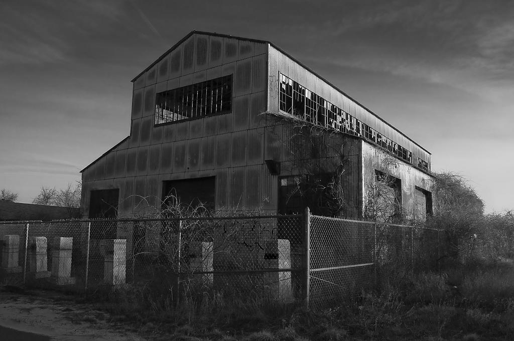 Burnt out building, Ft Tilden by mikescope in Member Albums