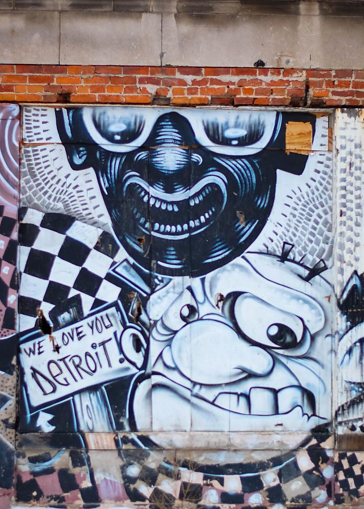 Detroit Graffiti by carguy in Member Albums