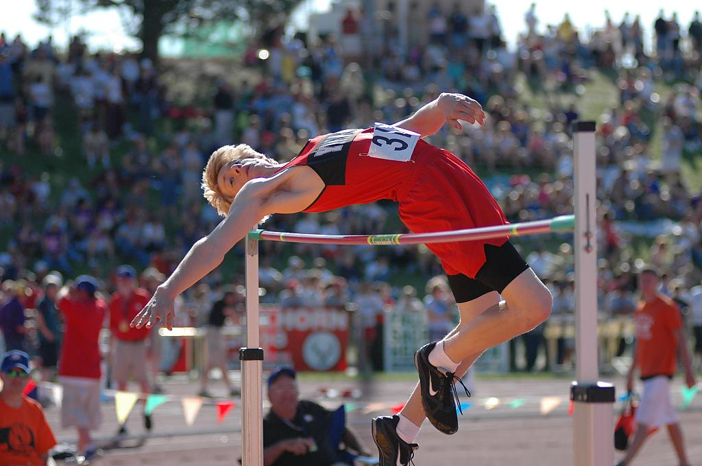 High Jumping by Photo Joe in Sports/Action