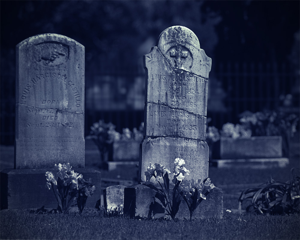 """Headstones at """"night"""" by STM in Member Albums"""