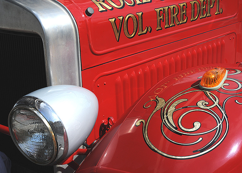 Antique Fire Truck by STM in Member Albums
