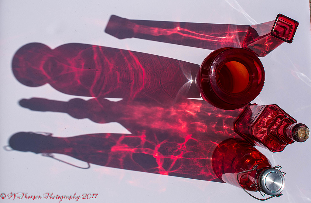 Red Glass Shadow by wthorson in Weekly Photo Challenges