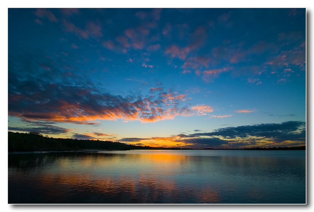 Sunset on Moreton Bay by Epoc in Member Albums