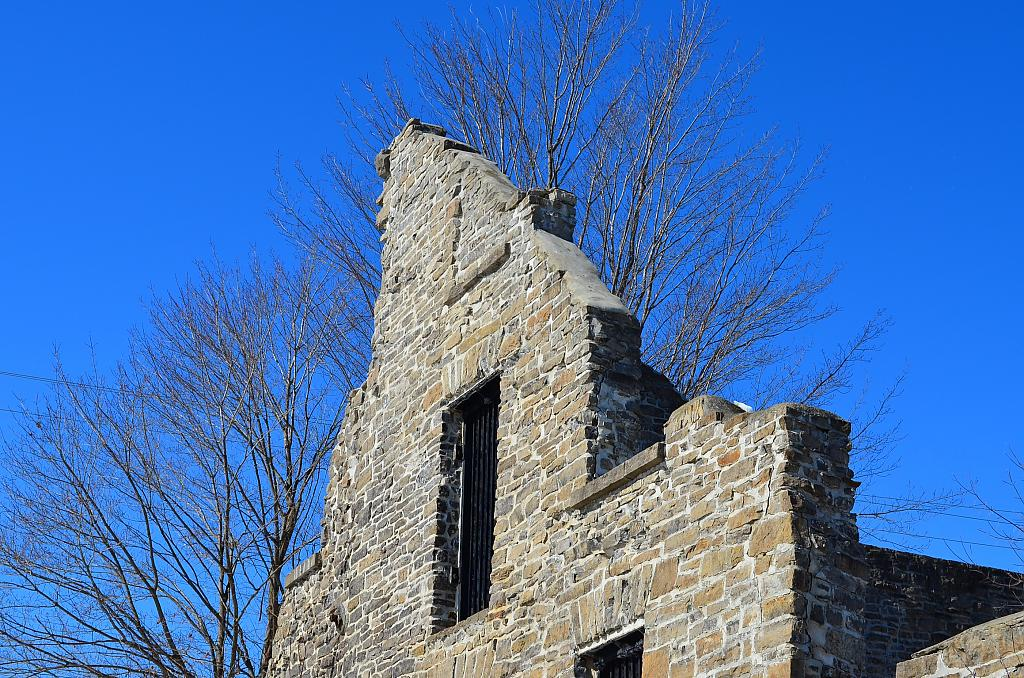 Local ruin, blue sky by Oldin in Member Albums
