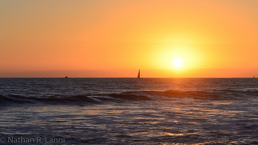 Sunset in Oceanside - 01 by Nathan Lanni in Member Albums