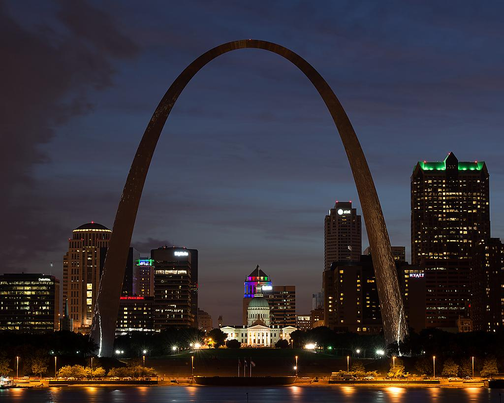 arch at night by singlerosa in Member Albums