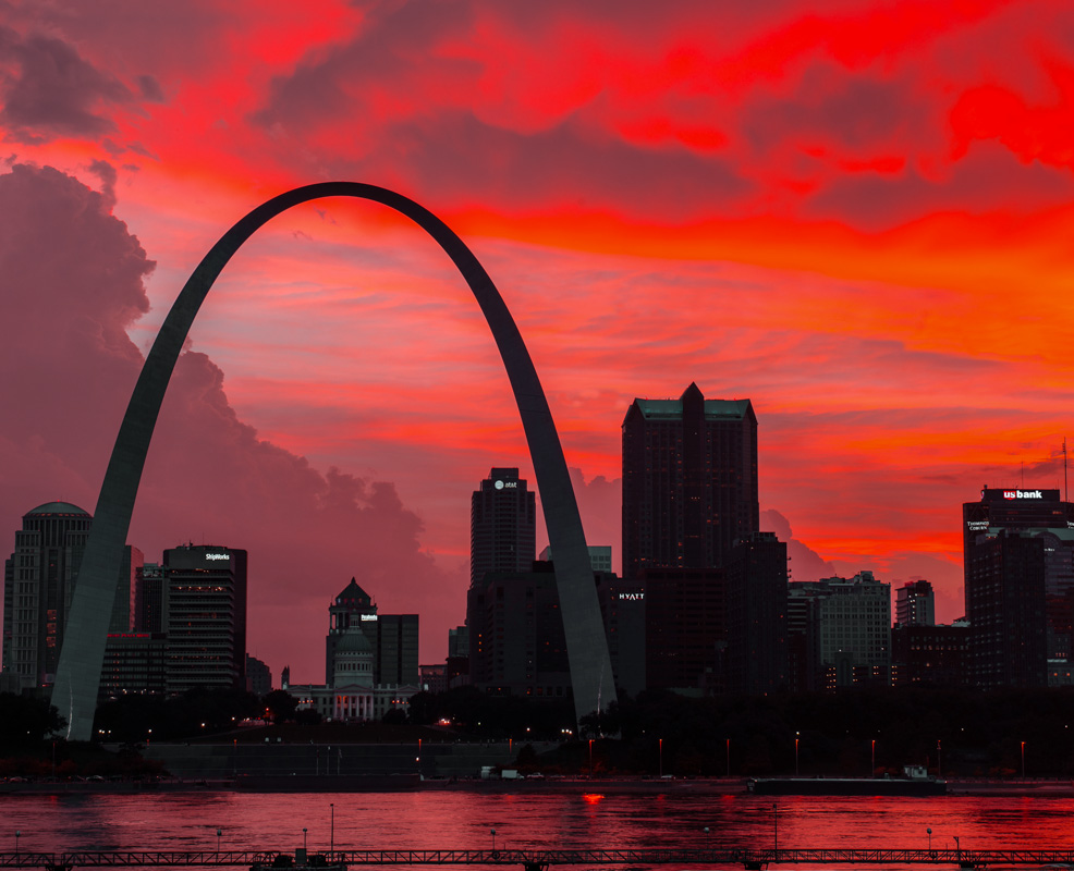 arch sunset by singlerosa in Member Albums