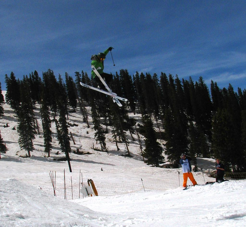 Springtime jumps at A-Basin by DWendell49 in Member Albums