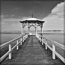 B&W Pier by Englischdude in Member Albums
