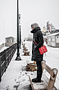 Snowy Boardwalk by TonyD315 in Member Albums