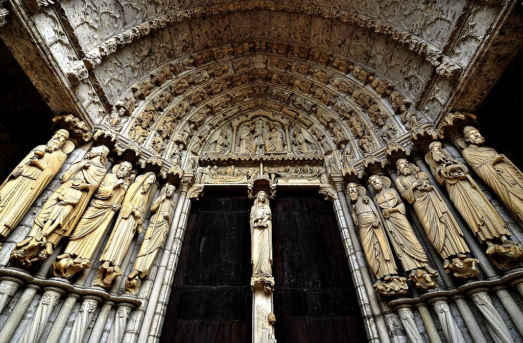 Chartres South Side by jdeg in Member Albums
